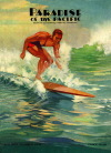 Hawaiian surfing posters